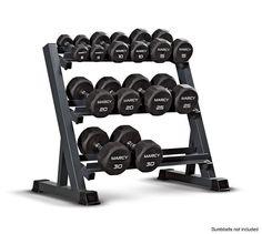 Multiple Dumbbell Rack Fitness Weight Gym Set 3 Tier Dumbbell Rack Equipment NEW #MultipleDumbbellRackUSA