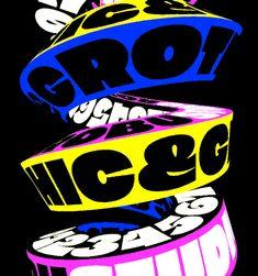 Graphic Grotesk kinetic typography by @AndreiRobu (www.robu.co)