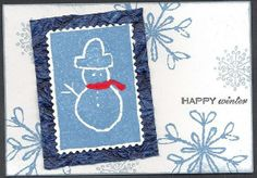 Simple Christmas ~ Winter cards JBgreendawn