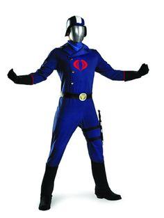 Gi Joe Cobra Commander Deluxe adult costume 138fcfe656a8