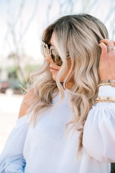 White open shoulder top and casual summer outfit // LIP FILLERS