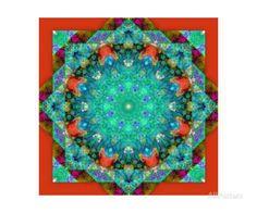Fantastic World Mandala VI Photographic Print by Alaya Gadeh at AllPosters.com