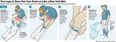 Meet the Met who puts his pants on inside-out, two legs at a time.  http://on.wsj.com/1QPKxfW  via @WSJ
