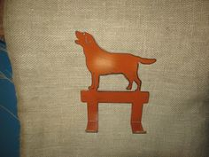 Lab Leash Hook/Dog Leash Hook/Dog Metal Art/Dog Home Decor/Pet Accessories/Dog Accessories by rescuedpawsironworks. Explore more products on http://rescuedpawsironworks.etsy.com