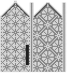 "Moonflower Mittens - Gestrickte DROPS Fäustlinge in ""Fabel"" mit Norwegermuster. - Free pattern by DROPS Design"