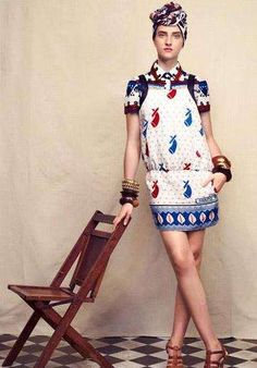 Vintage African Fashion: The Fair Trade Fashions of Suno NY Began in Africa