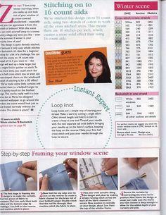 Pojedyncze wzory haftu krzyżykowego (strona 307) | Podręczniki są łatwe.