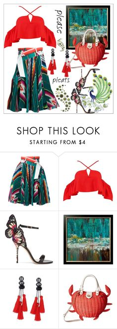 """""""Untitled #165"""" by causualtiesofaccessory ❤ liked on Polyvore featuring Sacai, Boohoo, Sophia Webster and Betsey Johnson"""