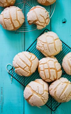"This ""pan dulce"" (sweet bread) is called ""conchas"" in Mexico or ""semitas"" in Honduras, I won't be surprised to find more names out there for it. Growing up, this was a classic treat to go with our coffee, I remember a little bakery by my house that use to Mexican Pastries, Mexican Sweet Breads, Mexican Bread, Honduran Recipes, Honduran Food, Ecuadorian Recipes, Mexican Dessert Recipes, Pan Dulce, Comida Latina"