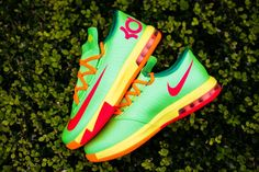 7f5f36b03546 Nike KD VI GS - Flash Lime - Sneaker Politics Nike Kd Vi