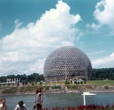 Expo 67, Montreal, Opera House, Louvre, Retro, Building, Travel, Collection, Viajes
