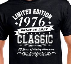 Funny 40th birthday Gift T shirt for Husband by DesignDepot123