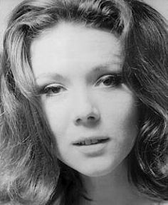 "Lovely British actress Diana Rigg starred as Agent Emma Peel in popular 1960s TV series ""The Avengers"""