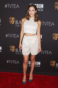 Actress Katharine McPhee attends the 2015 BAFTA Los Angeles TV Tea at SLS Hotel on September 19, 2015 in Beverly Hills, California.