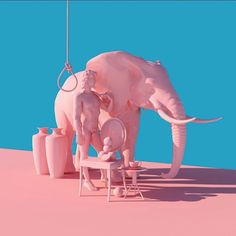 Colorful Surreal Scenes By Artist Lee Sol