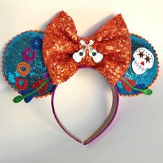 Le Bownitte Handmade Customized Bows & Ears by LeBownitte Disney Diy, Diy Disney Ears, Disney Minnie Mouse Ears, Disney Crafts, Cute Disney, Anna Disney, Disney Stuff, Disney Trips, Disney Ears Headband