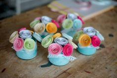 Aranjamente de rozete colorate Cod 1007