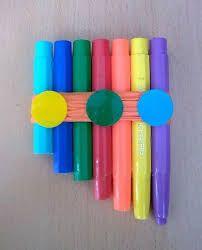 Resultado de imagem para instrumentos musicais com sucata para educação infantil