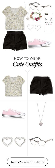 """""""Sidney's outfit #1"""" by wolfbloodrunsblue on Polyvore featuring Aéropostale, Tom Ford, Abercrombie & Fitch, Accessorize, Marc by Marc Jacobs, Casetify, Topshop and Converse"""
