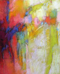 Contemporary Abstract Pastels