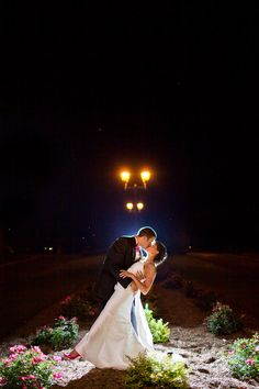 Bride And Groom Off Camera Flash Nighttime Photography Photo By Adele Lee Photos