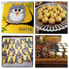 Yellow and gray baby shower for Ashtyn Scott :) Thanks ladies she loved it!