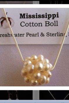 Mississippi Cotton Boll from Jewelry by Randy, Brandon MS
