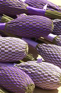 Lavender wands - they smell amazing!