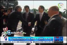 Gobernador De New York Y Danilo Se Reúnen En El Palacio Nacional #Video