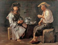 Two Peasants Giacomo Antonio Melchiorre Ceruti (1698 - 1767)