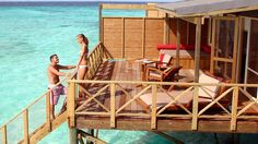 In this adults-only resort's overwater bungalows, you'll be in a world of your own with the ocean on your doorstep. -- Let an experienced and passionate travel agent help you get at www.travelcenter4u.com
