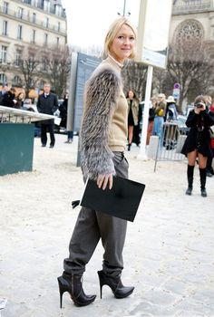 Zanna Roberts, Fur Sleeve