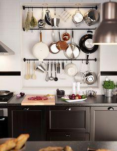נישות במטבחים 09, כמו במטבחים מקצועיים