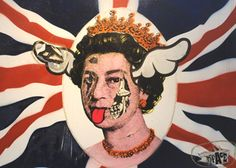 Queen Elizabeth by D'Face