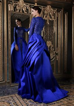 Rami Kadi Second Edition Rami Kadi Haute Couture glamour featured dresses; love the color!