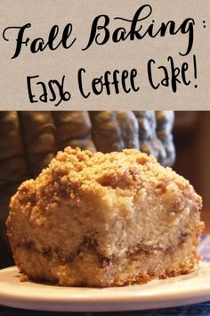 Easy Coffee Cake | eBay