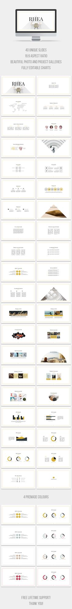 Rhea PowerPoint Template (PowerPoint Templates)