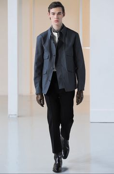 Lemaire menswear fall/winter 2015