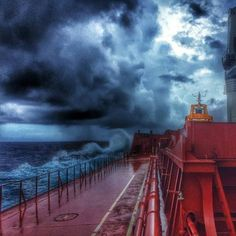 Sailing into bad weather  by @korch01  sent to us by @_k_a_r_r_y_ http://ift.tt/2dQpWZU