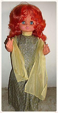 Muñeca Hecha en Venezuela , años 70 aprox. Doll Made in Venezuela 70`s