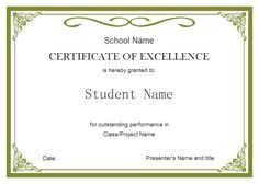 Image Result For Certificate  Certificates    Results