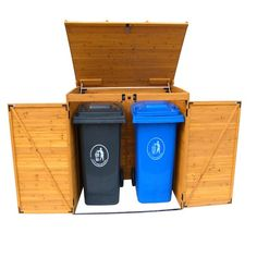 Leisure Seasons Large Garbage Can Storage Shed - Leisure Season Rss2001l