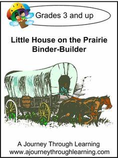 Little House on the Prairie Binder-Builder-8.00