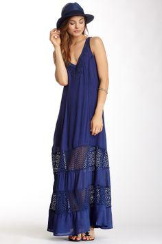 Love Stitch Double Spaghetti Strap Maxi Dress on HauteLook