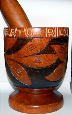 Puerto Rico Mortar, Pilón de Puerto Rico, it is used to make mofongo, among other things.☀Puerto Rico☀
