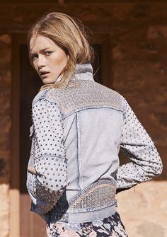 Auguste - Luca Studded Sleeve Jacket