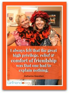 The comfort of friendship quote http://girlfriendology.com/day-10-of-12-days-of-friendship-the-wonderful-comfort-level-between-girlfriends/