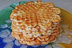 Grandmother& waffles from LEILAH . - Grandmother & waffles (recipe with picture) by LEILAH Easy Whole 30 Recipes, Easy Cookie Recipes, Waffle Recipes, Cake Recipes, Easy Vanilla Cake Recipe, Chocolate Cake Recipe Easy, Whole30 Recipes Lunch, Waffles, Best Pancake Recipe