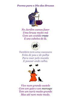 Poema Dia das Bruxas