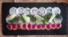 Kohlrabi, Turnip, and Radish Carpaccio